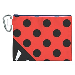Abstract Bug Cubism Flat Insect Canvas Cosmetic Bag (xxl) by BangZart