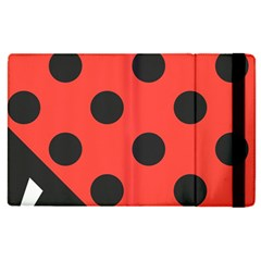 Abstract Bug Cubism Flat Insect Apple Ipad Pro 9 7   Flip Case