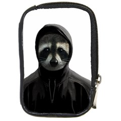 Gangsta Raccoon  Compact Camera Cases by Valentinaart