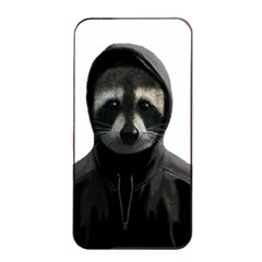 Gangsta Raccoon  Apple Iphone 4/4s Seamless Case (black) by Valentinaart