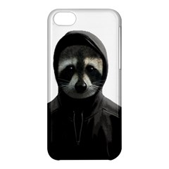 Gangsta Raccoon  Apple Iphone 5c Hardshell Case by Valentinaart