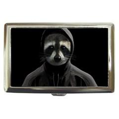 Gangsta Raccoon  Cigarette Money Cases by Valentinaart