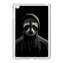 Gangsta Raccoon  Apple Ipad Mini Case (white) by Valentinaart