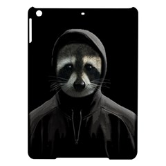 Gangsta Raccoon  Ipad Air Hardshell Cases by Valentinaart