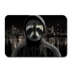 Gangsta Raccoon  Plate Mats by Valentinaart