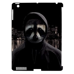 Gangsta Raccoon  Apple Ipad 3/4 Hardshell Case (compatible With Smart Cover) by Valentinaart