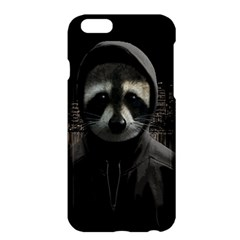 Gangsta Raccoon  Apple Iphone 6 Plus/6s Plus Hardshell Case by Valentinaart