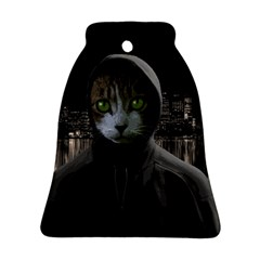 Gangsta Cat Bell Ornament (two Sides) by Valentinaart