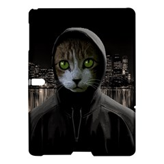 Gangsta Cat Samsung Galaxy Tab S (10 5 ) Hardshell Case  by Valentinaart