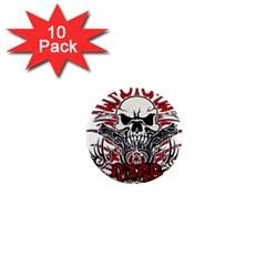 Acab Tribal 1  Mini Magnet (10 Pack)  by Valentinaart