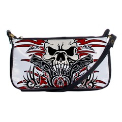 Acab Tribal Shoulder Clutch Bags by Valentinaart