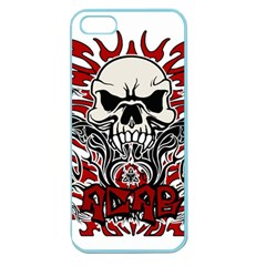 Acab Tribal Apple Seamless Iphone 5 Case (color) by Valentinaart