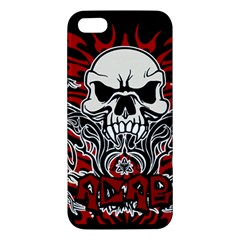 Acab Tribal Apple Iphone 5 Premium Hardshell Case by Valentinaart