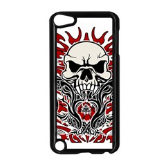 Skull Tribal Apple Ipod Touch 5 Case (black) by Valentinaart