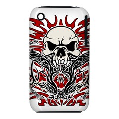 Skull Tribal Iphone 3s/3gs by Valentinaart