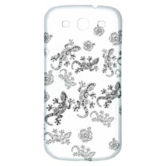 Ornate Lizards Samsung Galaxy S3 S Iii Classic Hardshell Back Case by Valentinaart