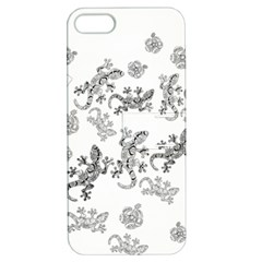 Ornate Lizards Apple Iphone 5 Hardshell Case With Stand by Valentinaart