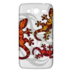 Ornate Lizards Samsung Galaxy Mega 5 8 I9152 Hardshell Case  by Valentinaart