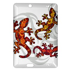 Ornate Lizards Amazon Kindle Fire Hd (2013) Hardshell Case by Valentinaart