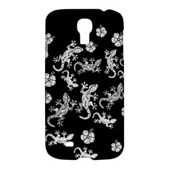 Ornate Lizards Samsung Galaxy S4 I9500/i9505 Hardshell Case by Valentinaart