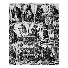 Tarot Cards Pattern Shower Curtain 60  X 72  (medium)  by Valentinaart