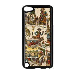 Tarot Cards Pattern Apple Ipod Touch 5 Case (black) by Valentinaart