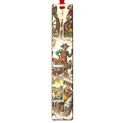 Tarot Cards Pattern Large Book Marks by Valentinaart