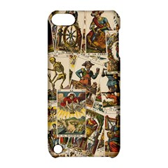 Tarot Cards Pattern Apple Ipod Touch 5 Hardshell Case With Stand by Valentinaart