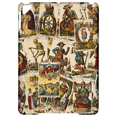 Tarot Cards Pattern Apple Ipad Pro 9 7   Hardshell Case by Valentinaart