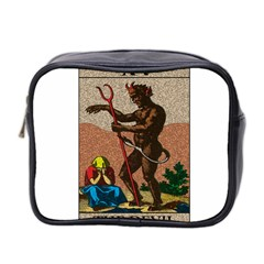 The Devil   Tarot Mini Toiletries Bag 2 Side by Valentinaart