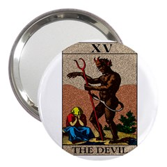 The Devil   Tarot 3  Handbag Mirrors by Valentinaart