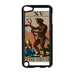 The Devil   Tarot Apple Ipod Touch 5 Case (black) by Valentinaart