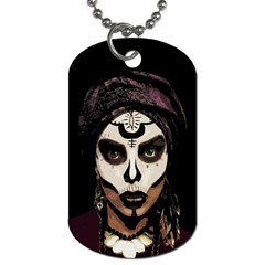 Voodoo  Witch  Dog Tag (two Sides) by Valentinaart