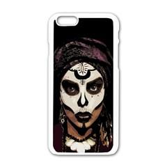 Voodoo  Witch  Apple Iphone 6/6s White Enamel Case by Valentinaart