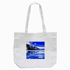 Landscape Tote Bag (white) by Valentinaart