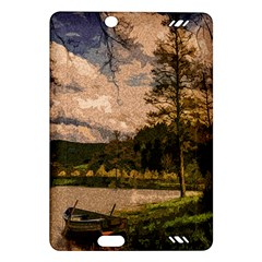 Landscape Amazon Kindle Fire Hd (2013) Hardshell Case by Valentinaart