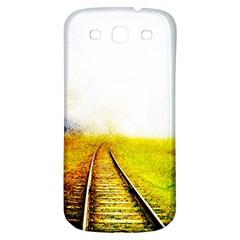 Landscape Samsung Galaxy S3 S Iii Classic Hardshell Back Case by Valentinaart