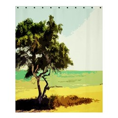 Landscape Shower Curtain 60  X 72  (medium)  by Valentinaart