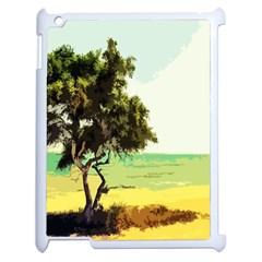 Landscape Apple Ipad 2 Case (white) by Valentinaart