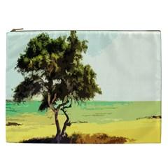 Landscape Cosmetic Bag (xxl)  by Valentinaart