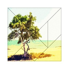 Landscape Acrylic Tangram Puzzle (6  X 6 ) by Valentinaart