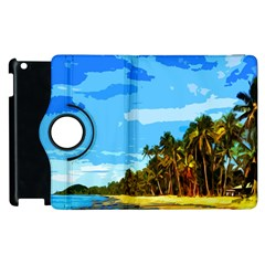 Landscape Apple Ipad 2 Flip 360 Case by Valentinaart