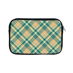 Teal Plaid 1 Apple Ipad Mini Zipper Cases by NorthernWhimsy