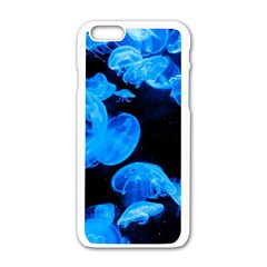 Jellyfish  Apple Iphone 6/6s White Enamel Case by Valentinaart