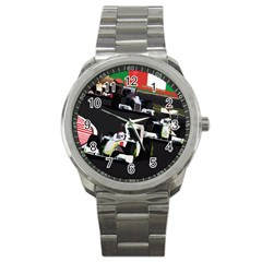 Formula 1 Sport Metal Watch by Valentinaart