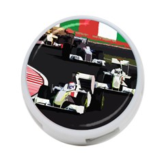 Formula 1 4 Port Usb Hub (two Sides)  by Valentinaart