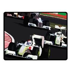 Formula 1 Fleece Blanket (small) by Valentinaart