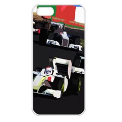 Formula 1 Apple Iphone 5 Seamless Case (white) by Valentinaart
