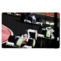 Formula 1 Apple Ipad 2 Flip Case by Valentinaart
