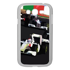Formula 1 Samsung Galaxy Grand Duos I9082 Case (white) by Valentinaart